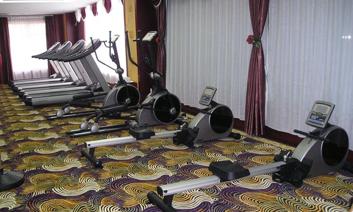 星级酒店健身房