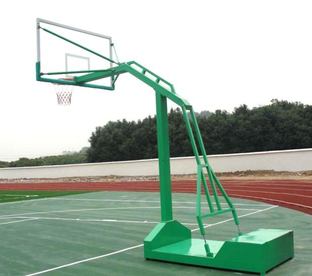 户外可移动式篮球架钢化玻璃面板