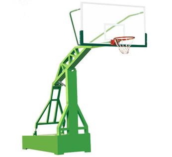 户外标准成年人仿液压可移动篮球架