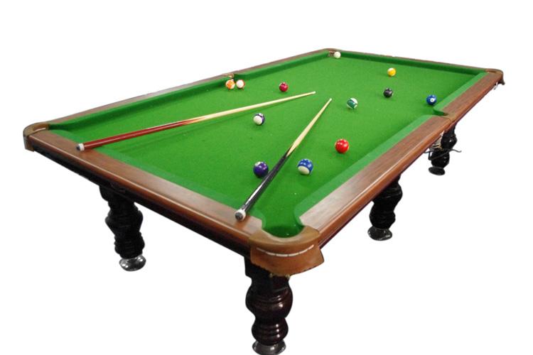 美式黑8高端台球桌