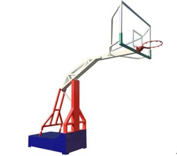 户外三色高端可移动仿液压篮球架