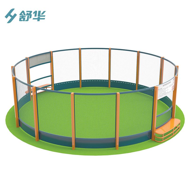 舒华360圆形足球训练场/户外笼式多功能运动...